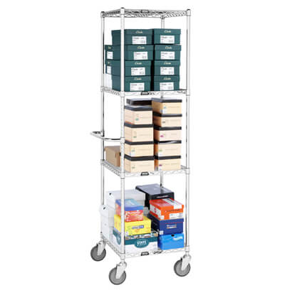 Wire Shoe Cart